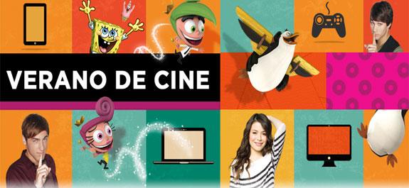 Nickelodeon: ¡Un verano de cine!