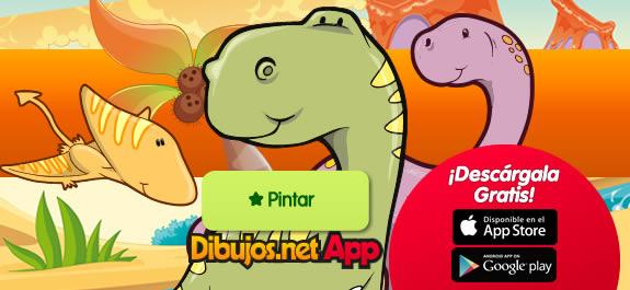 ¡Nueva App de Dibujos de Dinosaurios de Dibujos.net!