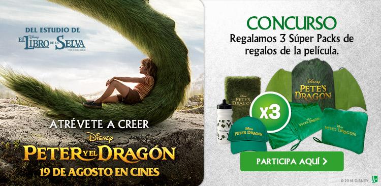 Peter y el Dragón,  lo nuevo de Disney se estrena en cines este 19 de Agosto