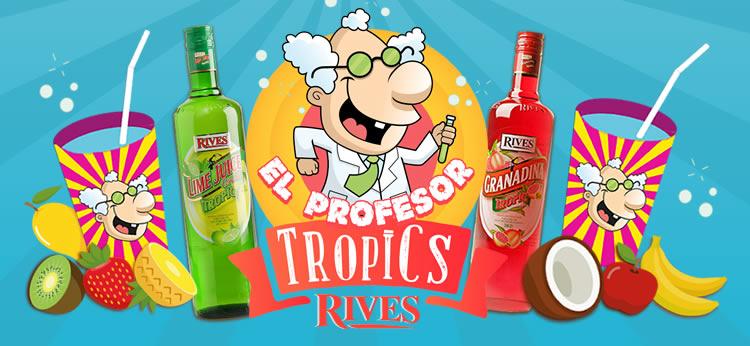 ¡Prepara los polos, refrescos y granizados más divertidos con el Profesor Tropics!