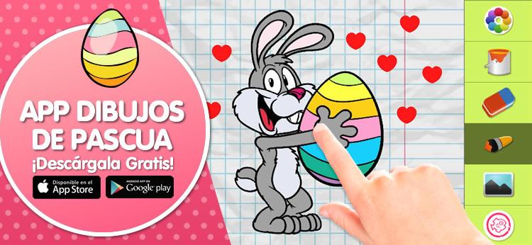 Te presentamos la App para colorear de dibujos de Pascua