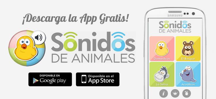 Te presentamos la nueva App de Sonidos de Animales de Dibujos.net