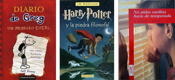 Tres sagas literarias para engancharse a la lectura