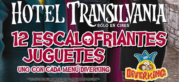 Ven a Burger King y colecciona los personajes de Hotel Transilvania