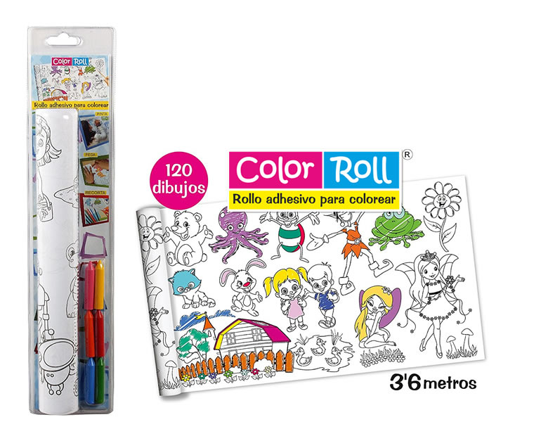 Descubrimos Color-Roll, el rollo adhesivo para colorear favorito de ...