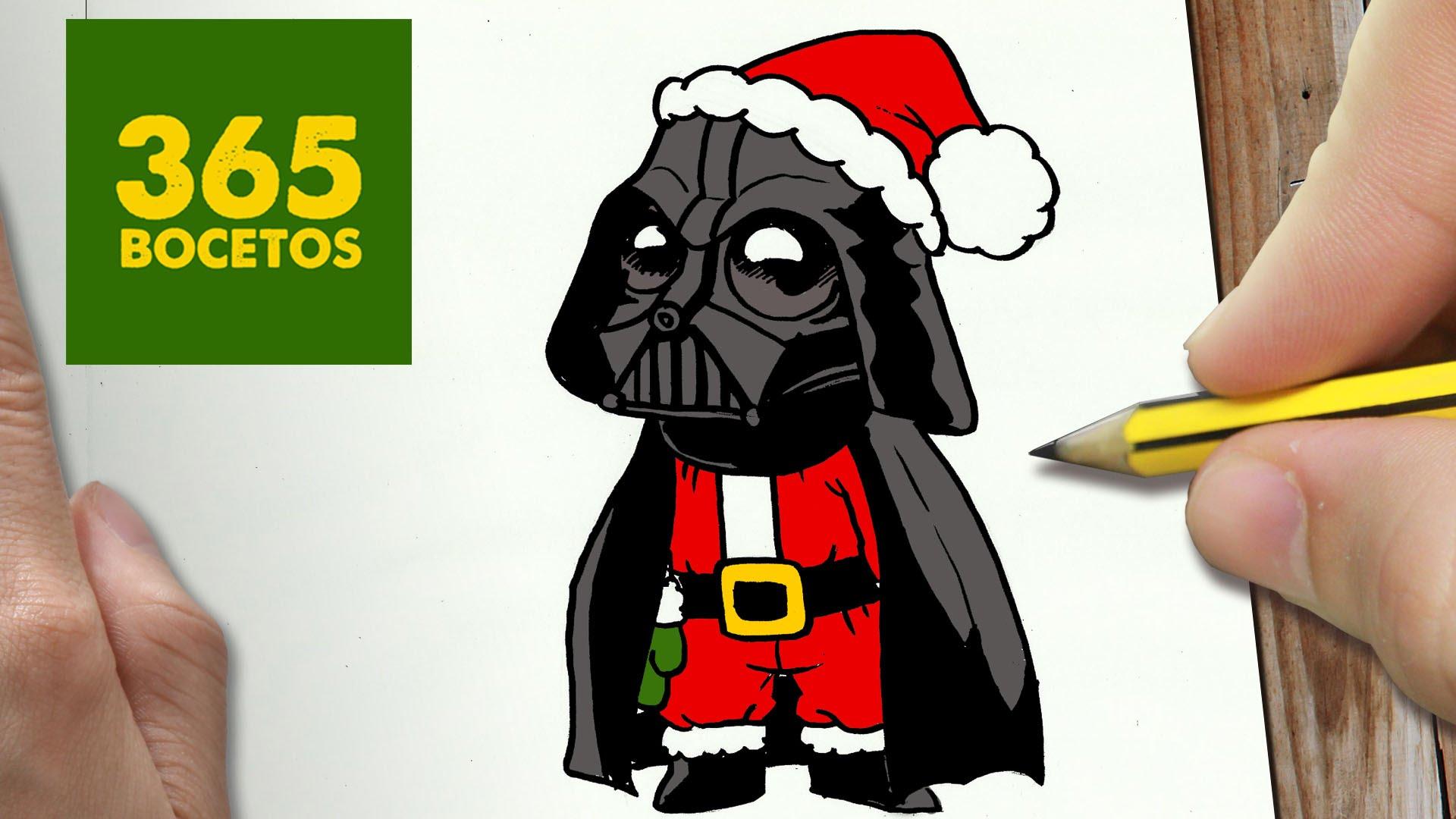 10 Tutoriales Para Dibujar En Navidad Dibujosnet