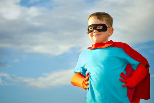 Disfraz de superhéroe