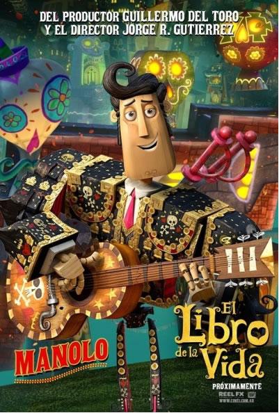 Primeras imágenes de la película 'El libro de la vida' - Dibujos.net