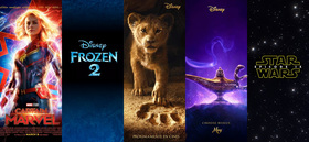 Estrenos Disney para este 2019