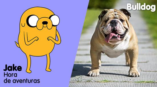 Jake de 'Hora de Aventuras' es un Bulldog