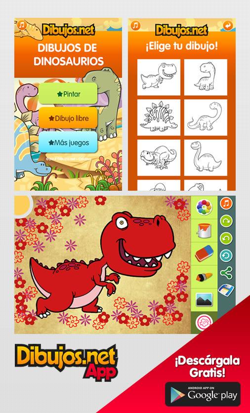 App Dibujos de Dinosaurios