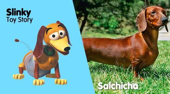 Slinky de 'Toy Story' es un Perro Salchicha
