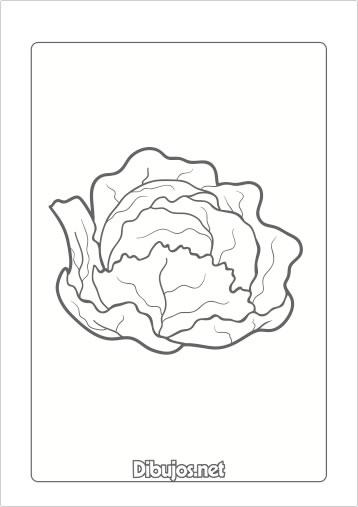 10 dibujos de verduras para imprimir y colorear - Dibujos en colores para imprimir ...