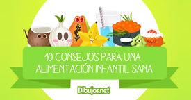 10 consejos para una alimentación sana y equilibrada en la infancia