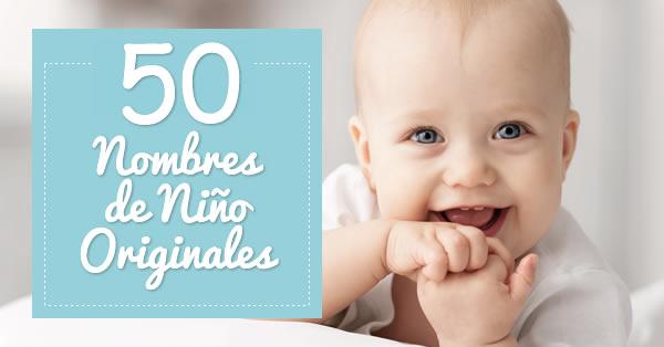 50 nombres originales para niño - Padres - Dibujos.net df7615168a10