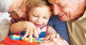 Abuelos y nietos: secretos para una buena relación