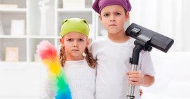 Cómo conseguir que los niños colaboren en las tareas del hogar