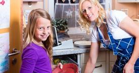 Cómo os pueden ayudar los niños en las tareas del hogar