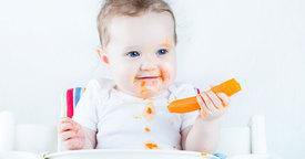 Cuándo empezar con la dieta sólida del bebé