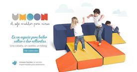 Descubre Umoon: sofás modulares perfectos para toda la familia