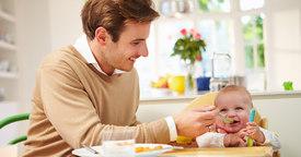 Etapas de la alimentación del bebé