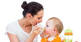 La alimentación del bebé durante el primer año
