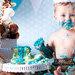 La moda de los Smash Cake con bebés