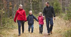 Los mejores parajes naturales para visitar en familia