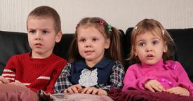 Los niños, frente a la tele
