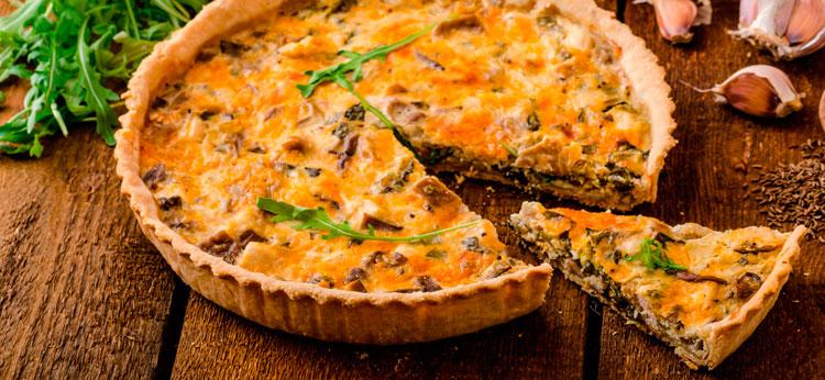 Quiche de verduras para ni os recetas de tartas en for Quiche de verduras facil