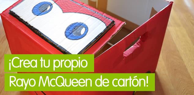 Rayo McQueen de cartón